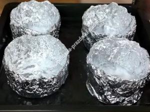 Картошка запеченная в духовке с курицей фото