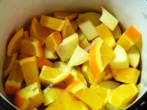 Глинтвейн с фруктами рецепт