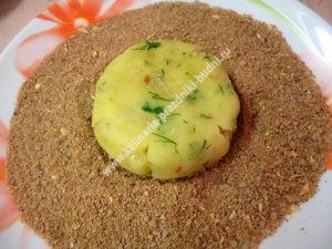 Картофельные котлеты пошаговый рецепт с фото