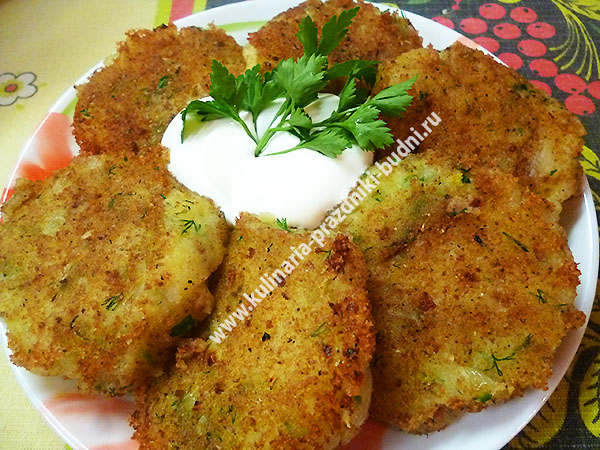 Котлеты из картофельного пюре рецепт фото