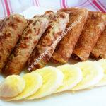 Рецепт банановых блинов