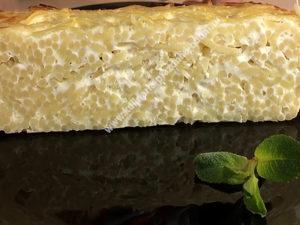 Запеканка макароны с творогом рецепт с фото