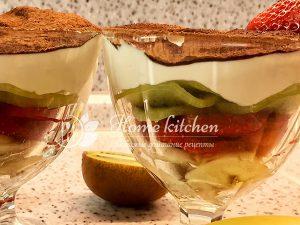Фруктовый десерт фото рецепт
