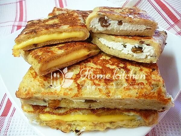Быстрые горячие бутерброды рецепт с фото