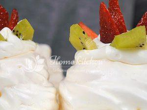 Пирожное Павлова рецепт с фото