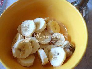 Оладьи с бананом рецепт с фото
