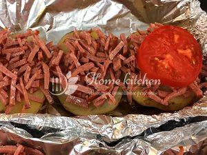 Блюдо из молодой картошки в духовке