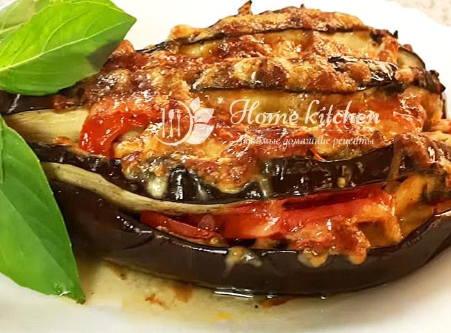 Баклажаны с мясом и овощами рецепт