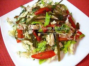 Салат с пекинской капустой с фото пошагово