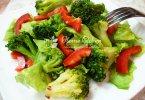 Очень вкусный салат с брокколи