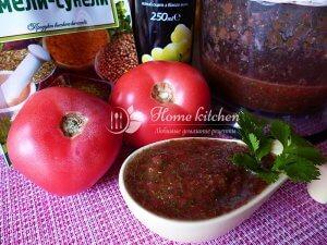 Томатный соус Сацебели рецепт