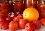 Яблочно апельсиновое варенье рецепт