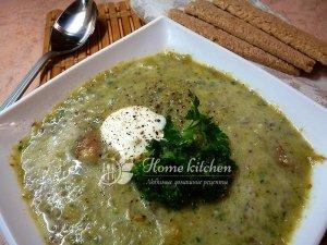 Суп пюре с брокколи фото