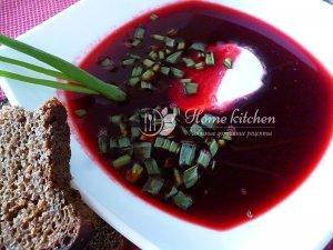 Свекольный суп рецепт фото