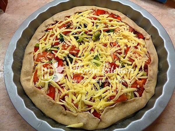 Как сделать домашнюю пиццу без дрожжей